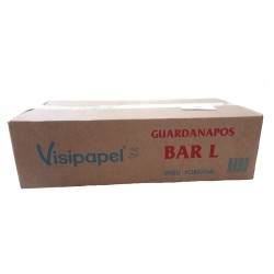 Guardanapos Bar Tipo L Visipapel 30 Maços 17x17 6000 unid.